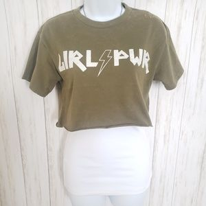 Girl Power Crop Top, Festival Fashion Say What Top